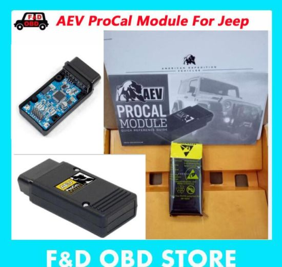 Aev Procal Module for Jeep Wrangler&Wrangler Unlimited Jk Aev Tire Size/Axle Ratio/Otlc/TPMS/DRL/Asbs/PCM Mode Diagnostic Tool