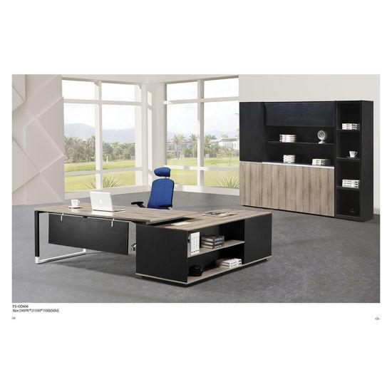 China Modern Fashion fice Furniture Executive Table Boss Desk FS