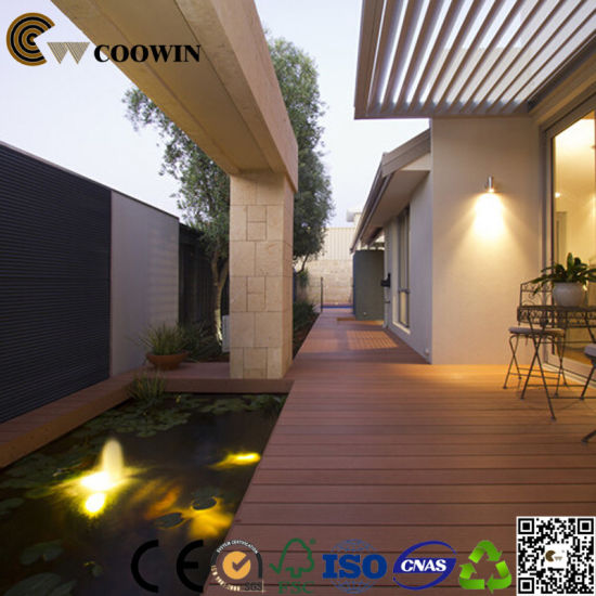 Eco Friendly Deck Roofing Materials WPC Decking pictures & photos