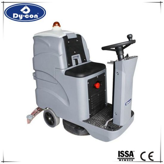 China Handheld Easy Use Rotate Floor Scrubbing Machine For Warehouse - How to use a floor scrubber machine