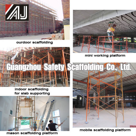 Light Duty Steel Frame System Scaffolding for Construction, Guangzhou Manufacturer (HF1930) pictures & photos
