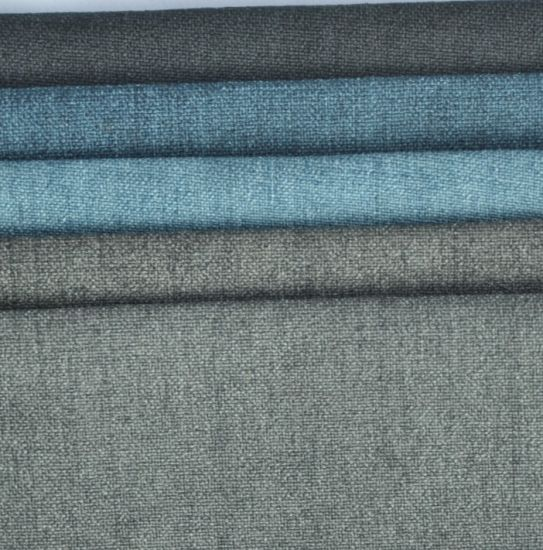 Superbe Different Colors Polyester Plain Linen Upholstery Sofa Fabric Manufacturer