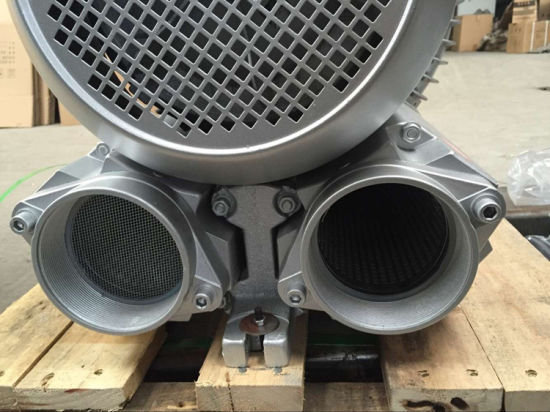 Scb Double Stage 20kw Ring Blower for Material Transportation pictures & photos