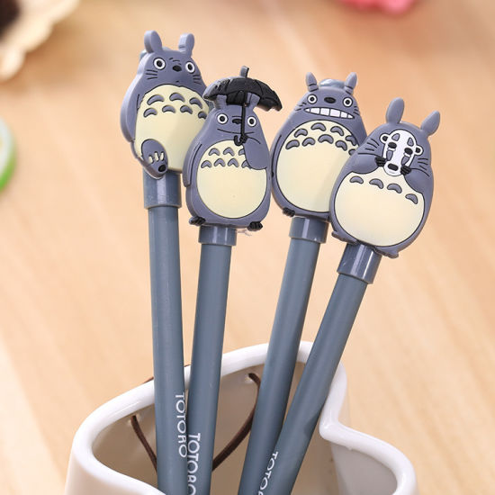 Cartoon Animal Totoro Gel Pen Cute for Writing Stationery Office Supplies School Kid Prize Party Pens