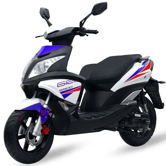 Gas Scooter 50cc 2t Stroke Scooters Motor Moped