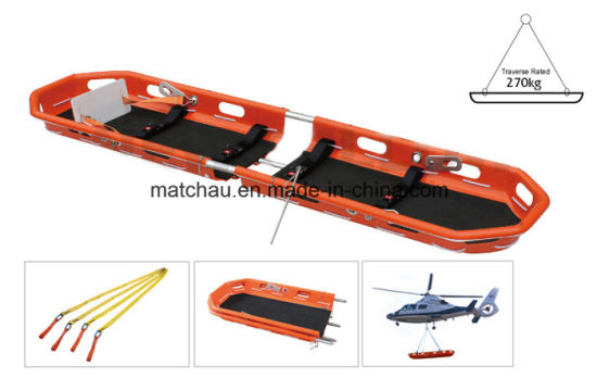 Folding Lifesaving Basket Stretcher for Helicopter pictures & photos