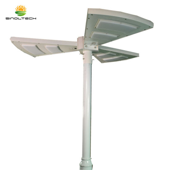 Fan Shape 15W Outdoor Integrated Solar Light for Parking Lot (SNSTY-S15) pictures & photos