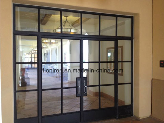 China High Cost Effetive French Steel Doors And Windows China