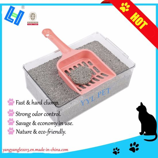 2018 Hot Sell Super Odor Control, Savage Bentonite Cat Litter/Sand