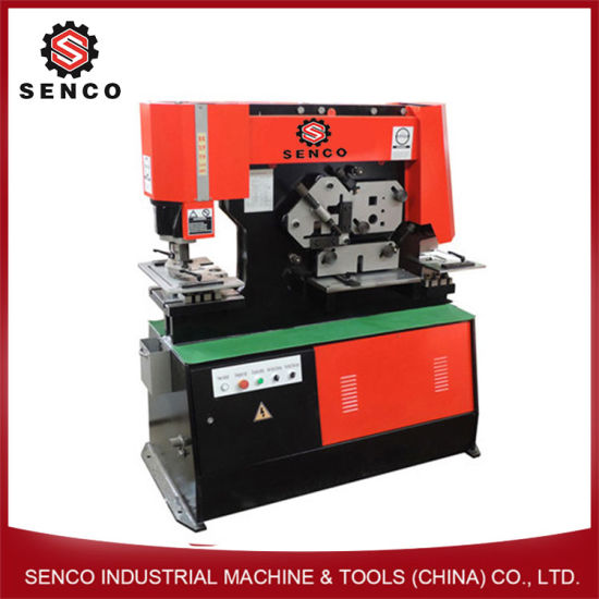 Hydraulic Ironworker with Notching, Punching and Cutting