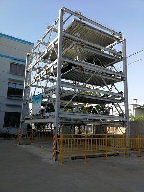 Automated Psh Series Mechanical Carousel Multistory Car Parking System with Ce and SGS Certificates
