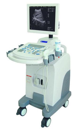 Medical Trolley Color Doppler 3D Ultrasound Scanner for Ob Gyn