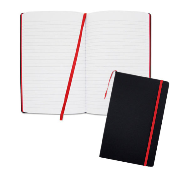 Custom 2020 A5 Elastic Bound Hardcover PU Leather Diary Notebook
