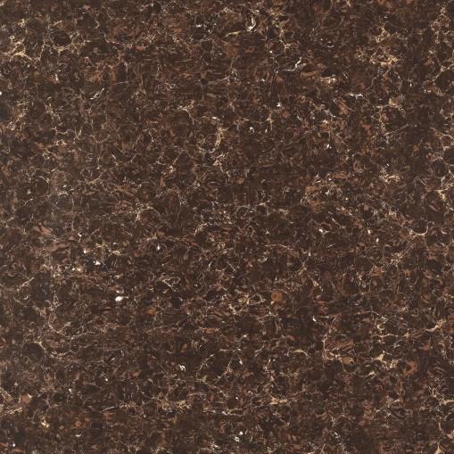 600*600mm Brown Pulati Design Unglazed Polished Double Loading Porcelain Floor Tile (GL6708)