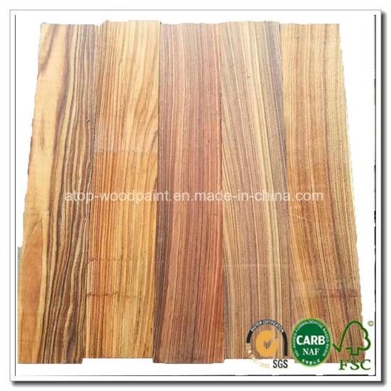 China Santo Rosewood Morado Wood Veneer Toplayer For Engineered Wood