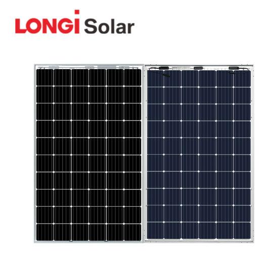 China High Efficiency Longi Bi-Perc Double Glass Double Electric Mono Solar Panel 300W