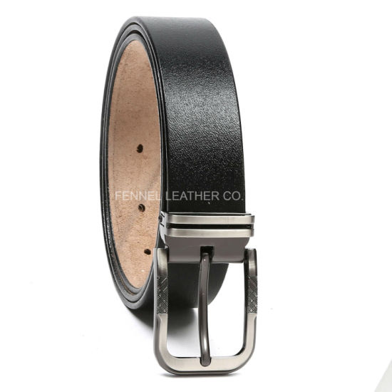 Designer Genuine Cow Leather Men Fashion Belt (EU001) pictures & photos