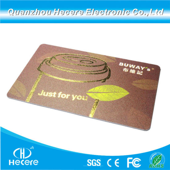 Magnetic Strip RFID Hybrid Smart Card with Factory Wholesale Price