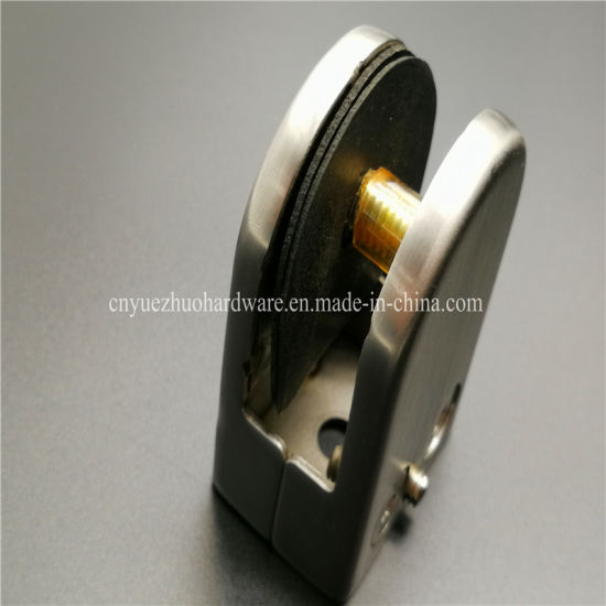 China Suppliers 304 Stainless Steel Clamp Glass Door Hinge China