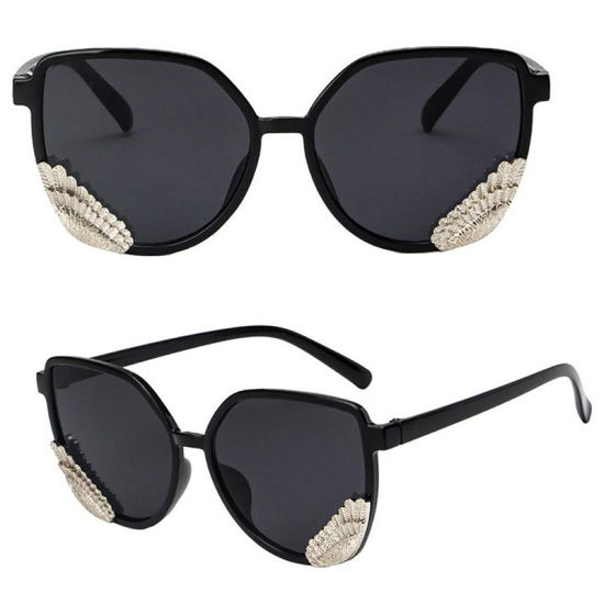 f13a4a1519 Cateye Sunglasses Women Luxury Brand Designer Transparent Candy Color  Feather Glasses Retro Sunglasses Fashion Female Glasses UV400