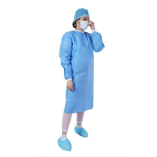 China Nonwoven Waterproof Sterile Disposable Medical Surgical Gowns ...