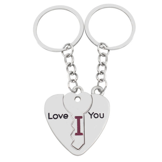 Factory Supply Couple Keychains for Lovers