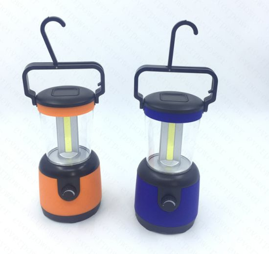 500lumen COB Dimmer Fishing Outdoor LED Lantern pictures & photos