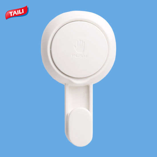 Good Quality Plastic Wall Hanger Thick Suction Hook For Bathroom