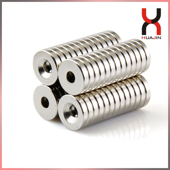 Rare Earth Super Strong Countersink Magnet Permanent Magnet with Holes
