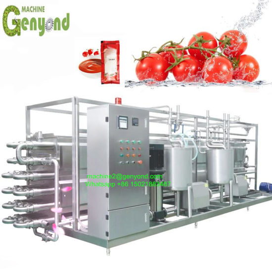 Full Set Small Processing Line Tomato Paste Production Line pictures & photos