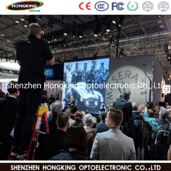 High Definition Full Color Both Outdoor and Indoor P3.91/P4.81 LED Display Screen