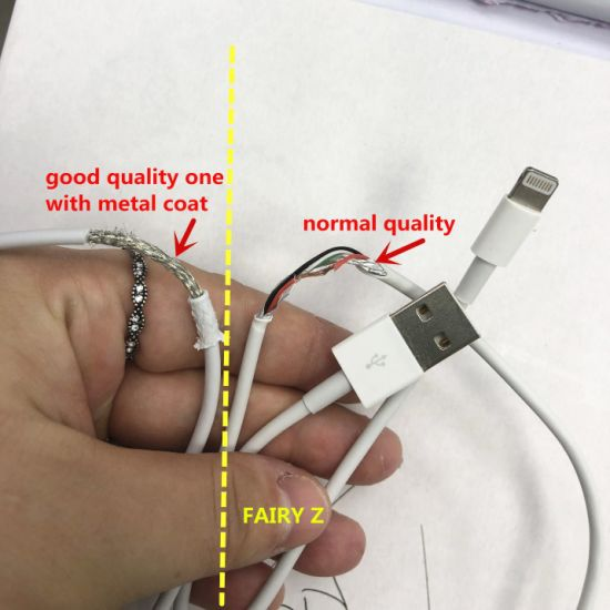 Ebay Amazon Hot Sale USB Charging Cable for Apple iPhone iPad