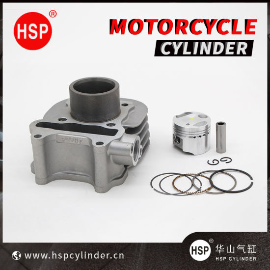 High Quality Motorcycle Parts Cylinder Block Kit for SUZUKI LETS4 50 V50