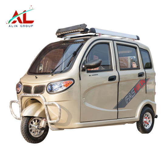 Al-Bj 3 Wheels 3 Passengers Electric Tricycle Electric Scooter for Sale in India