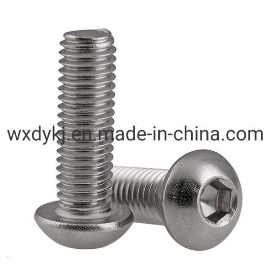 ISO7380 Stainless Steel Pan Head Socket Cap Screw