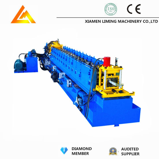 Full Auto Z Purline/Channel Steel Roofing Roll Forming Machine
