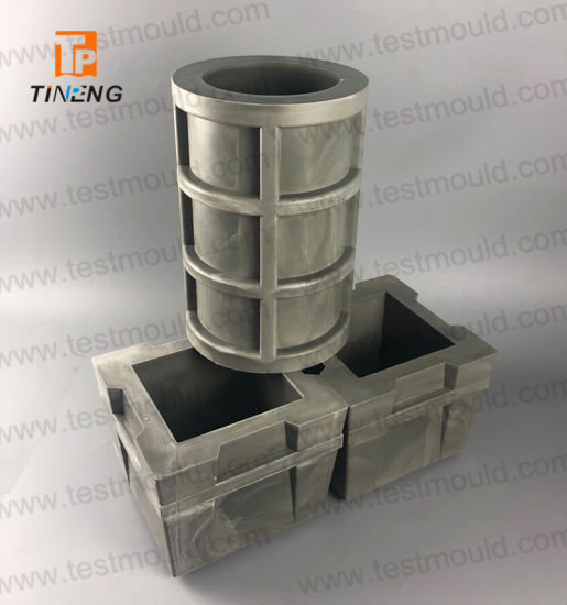 Polyurethane Concrete Cube and Cylinder Sample Mould