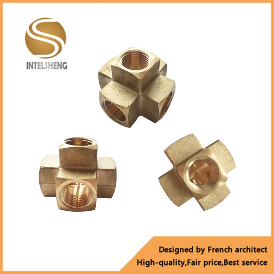 5 Way Brass Fitting Used in Fire Protection Systems