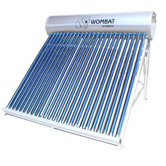 150L Compact Pressurized Evacuated Tube Heat Pipe Solar Water Heater