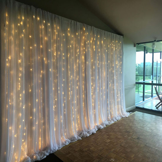 Pipe and Drape Kits with LED Light Bar Backdrop Decoration pictures & photos