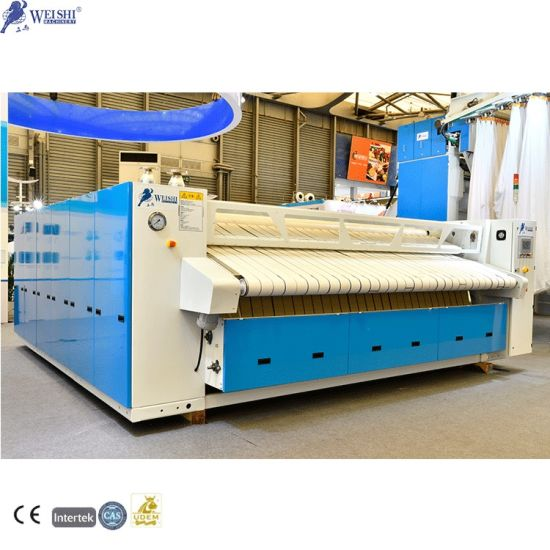 Flatwork Roller Ironer Commercial Linen Press Machine for Laundry Ironing Factory
