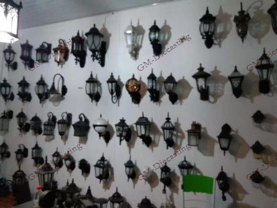 Kinds of High Quality Hexagonal Lamp /Wall Lamp/ Palace Lamp /Whole Lamp and Accessories Supply and Die Casting