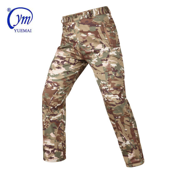 Army Uniform Hunting Soft Shell Pant Military Tactical Pant pictures & photos