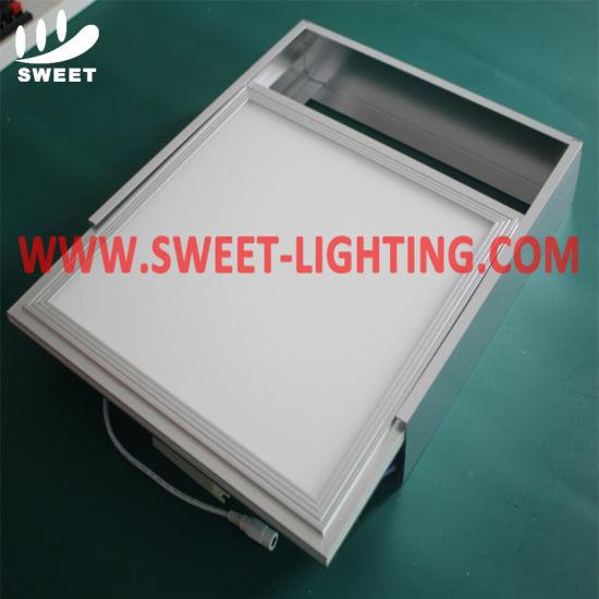 Aluminum Alloy LED Panel Light Frame Mounted Bracket for False Ceiling Installation