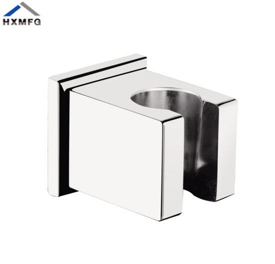 Chrome Base Wall Base Shower Bathroom with Zinc Alloy