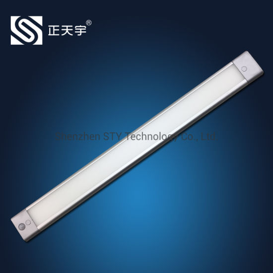 Linkable PIR Motion Sensor Indoor LED Linear Strip Under Cabinet Tube Light for Furniture / Wardrobe / Closet / Kitchen / Showcase pictures & photos