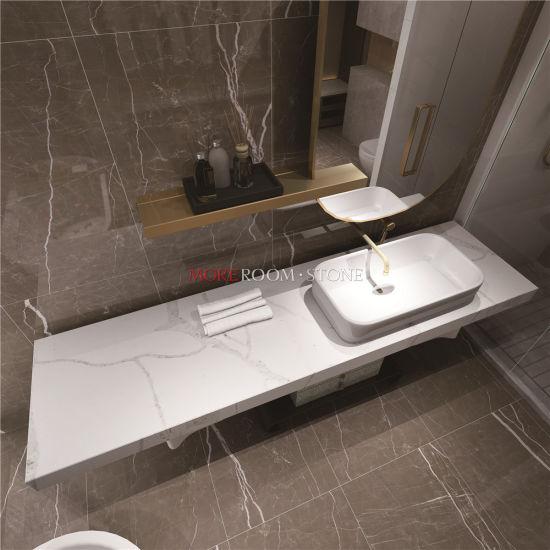 China Custom Engineered Quartz Bathroom