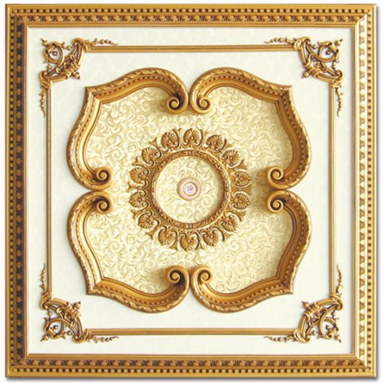 Banruo Decorative Luxurious Polystyrene Ceiling Medallions for Ceiling Decor pictures & photos