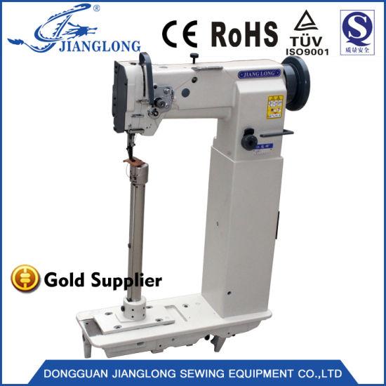 Single-Needle Unison Feed Post Bed Sewing Machine