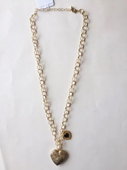 Fashion Metal Jewelry Necklace Chaining Gold with Cyrstals 26~29+3cm